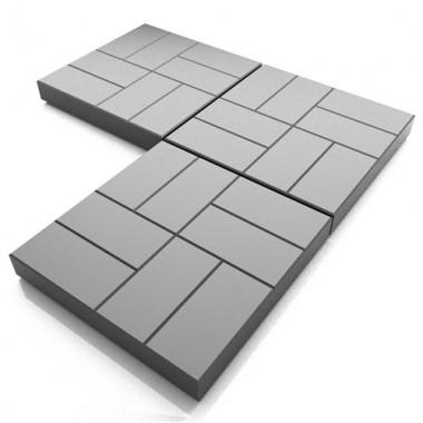 Тротуарная плитка 8 кирпичей в Ступино, Кашире, Озерах